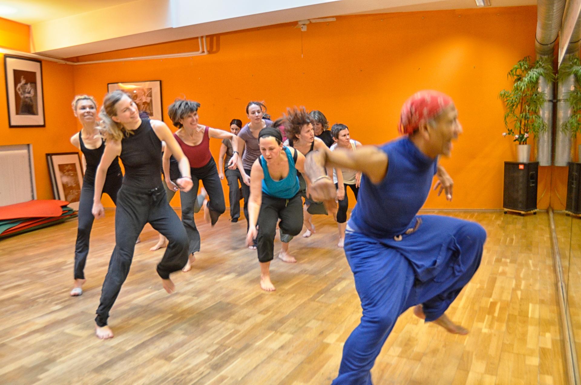 Pilates Dance Movement