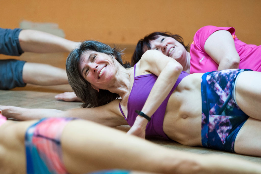 pilates sides movement